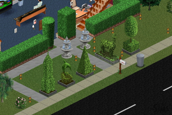 Topiaries for The Sims
