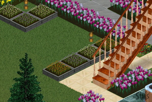 Coped Flowers (The Sims)