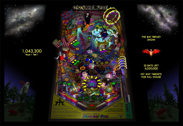 Monster Fair Pinball Demo